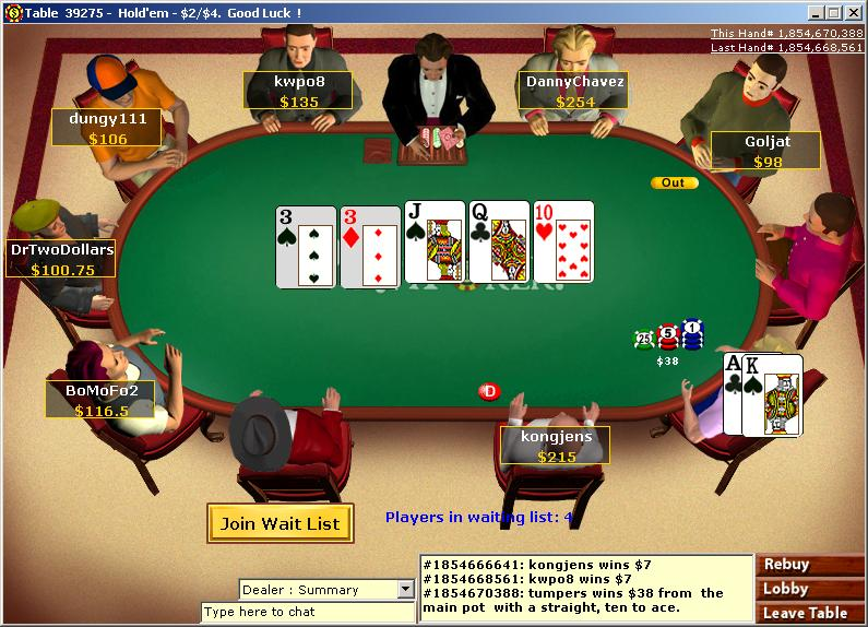 series of Poker