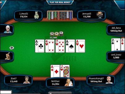 Poker is a gambling game